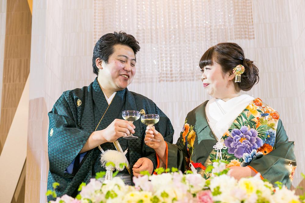 料理に満足♡ゲストと楽しむ結婚式