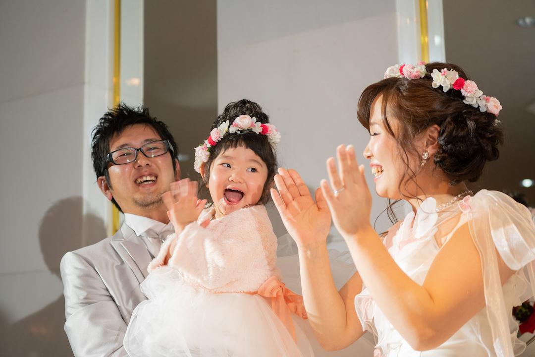 家族で楽しむ結婚式♪