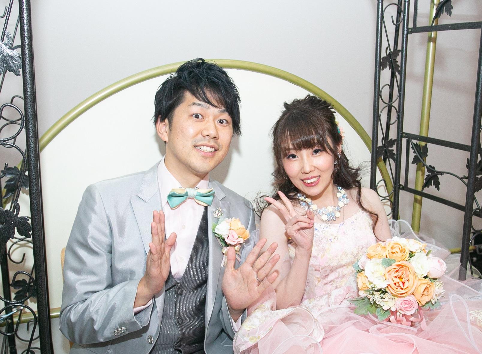 ゲストと楽しむ結婚式♪